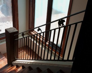 Custom Design Ironwork Railing