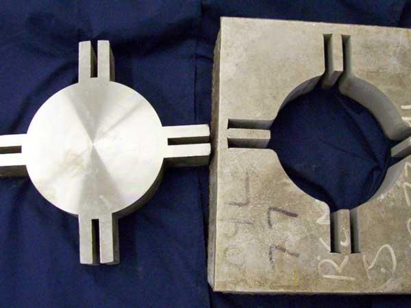 Cut Steel Plate