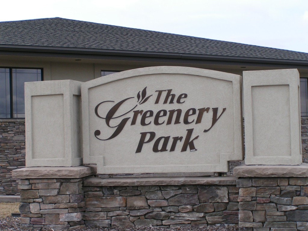 greenery-park-signage-waterjet-cut