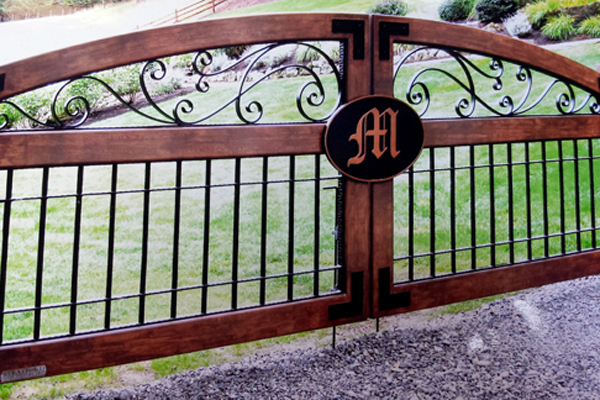 Acutech works driveway gates commercial residential