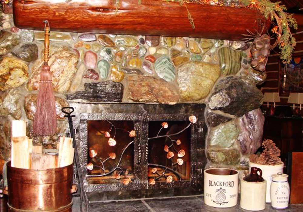 custom-metal-fireplace-leaves-tree-pattern