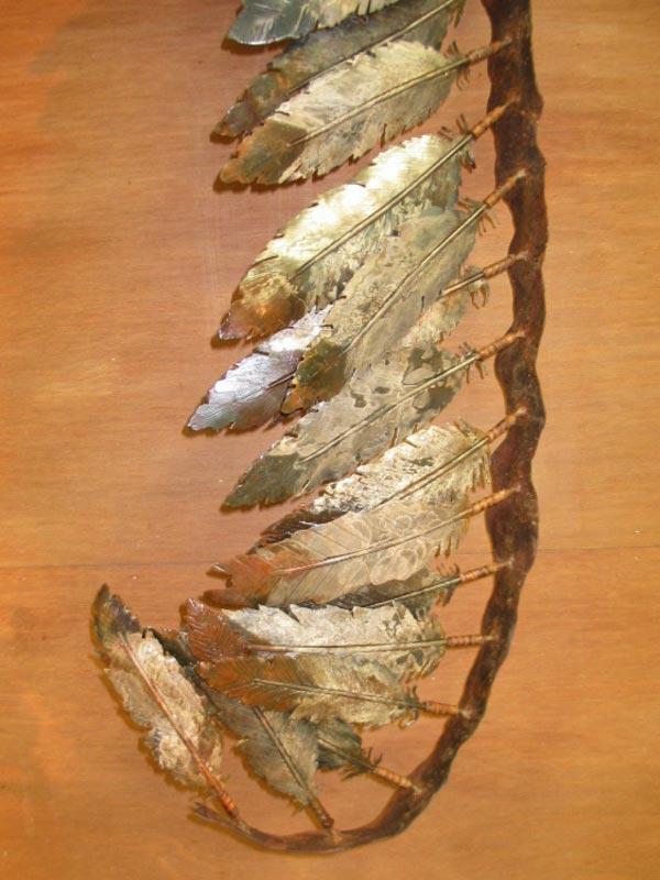 decorative-metal-feather-furniture