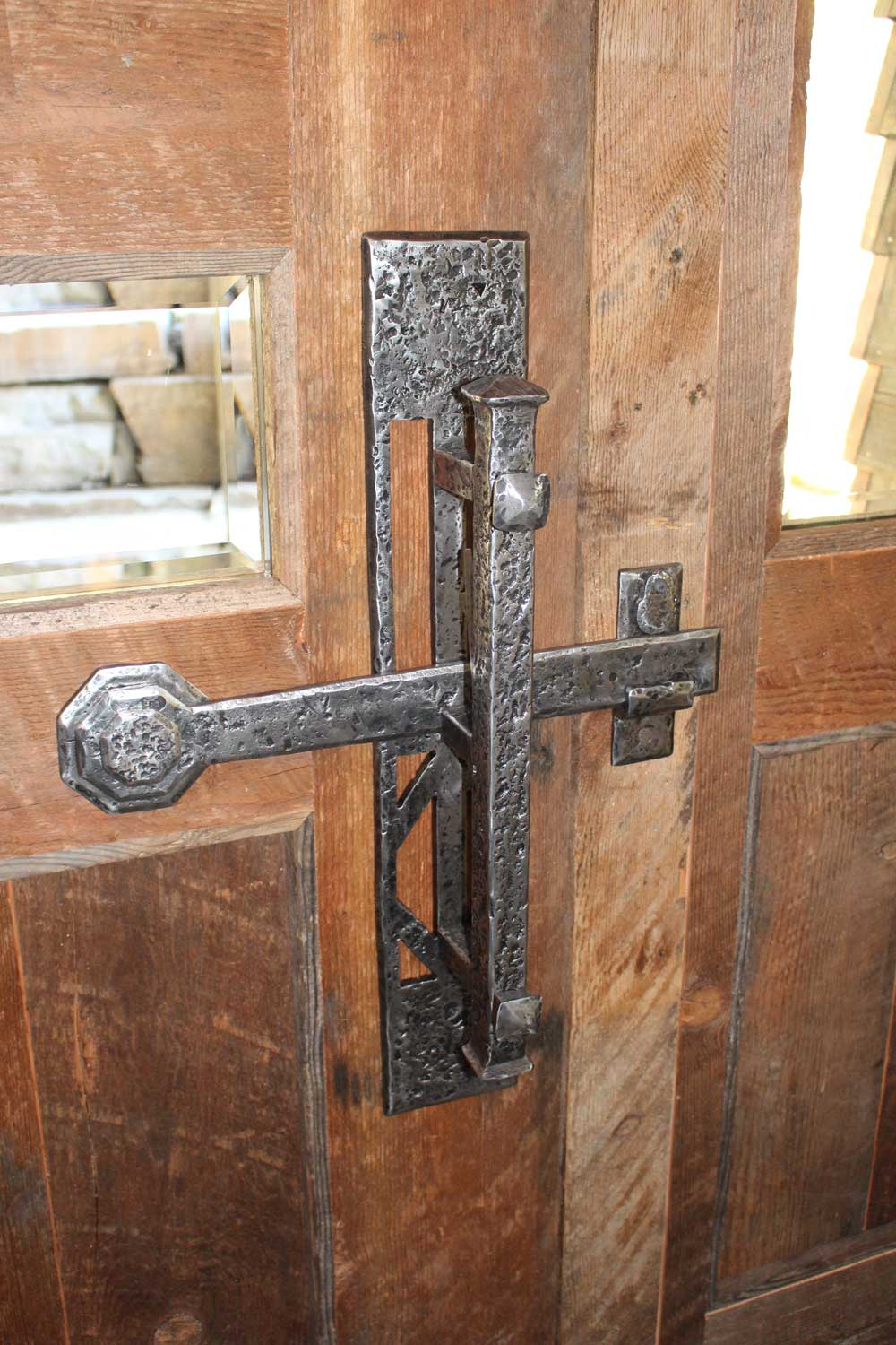 locked-wrought-iron-door-handle-acutech