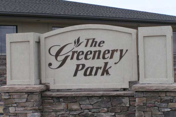 the-greenery-park-office-sign