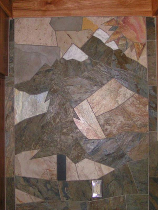 tree-mosaic-stone-wall-kitchen
