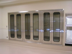 Stainless Steel Pass-Through Cabinets