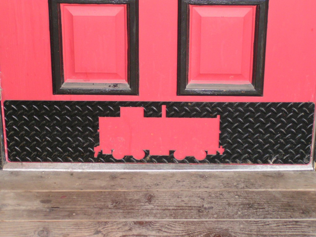 Acutech Works Red Caboose Kick Plate Cut Out Acutech Works
