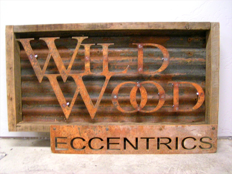 Acutech Works Wildwood Eccentrics Rustic Metal Amp Wood
